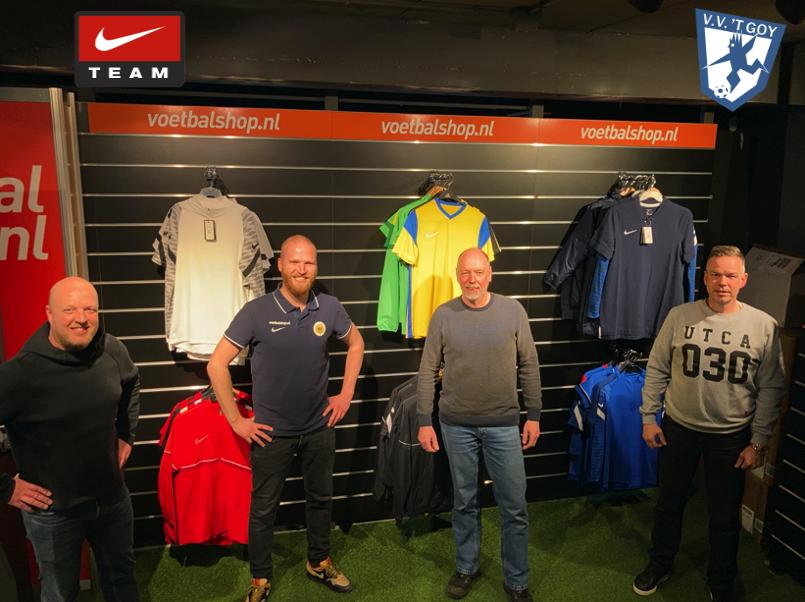v.v. 't Goy en Voetbalshop.nl teken 5-jarige overeenkomst